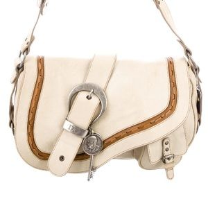 Christian Dior Gaucho Double Saddle Bag
